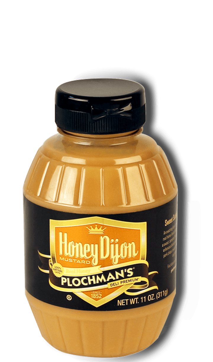Plochman's Premium Honey Dijon Mustard Label
