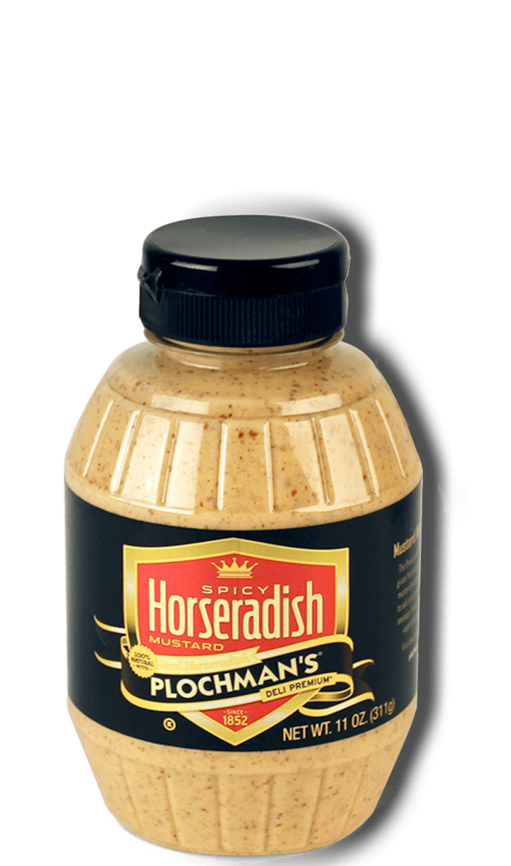 Plochman's Premium Spicy Horseradish Mustard