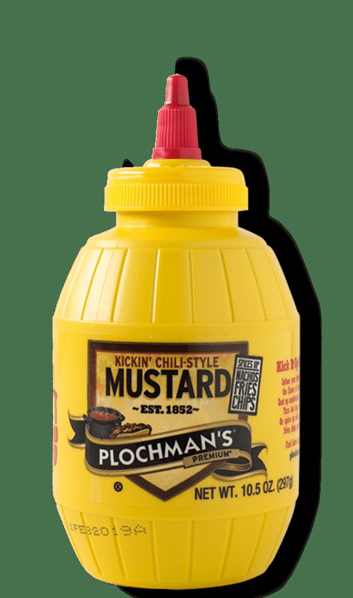 Plochman's Premium Kickin' Chili-Style Mustard