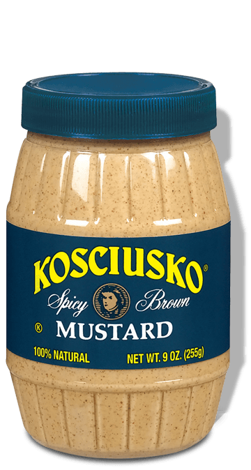 Kosciusko Spicy Brown Mustard