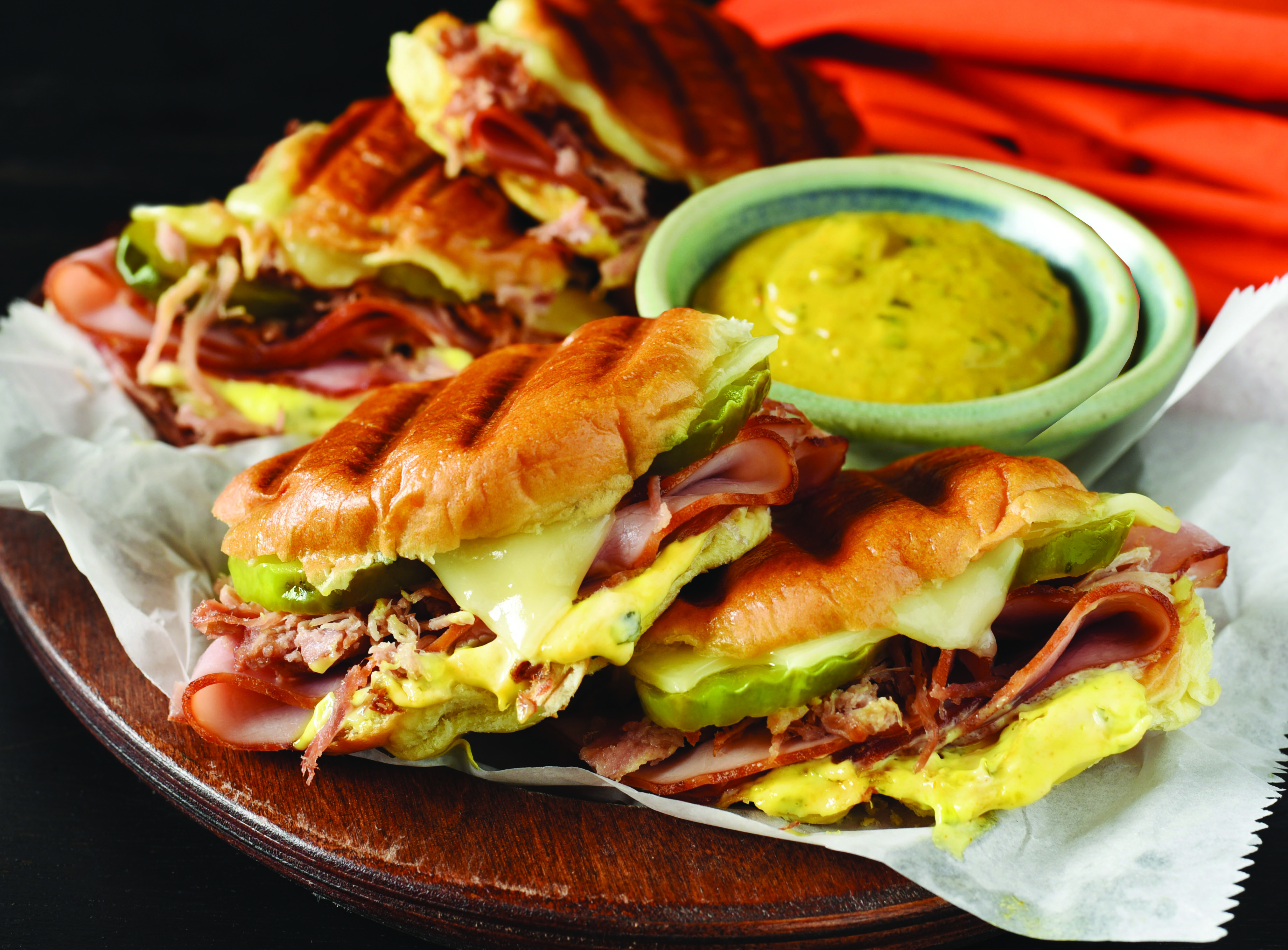 Plochman's Cuban Grilled Sliders_cropped