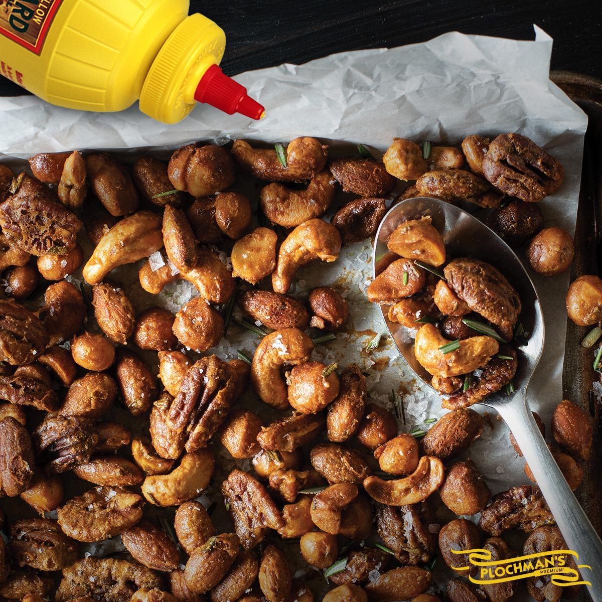 MUSTARD, SPICE & ROSEMARY MIXED NUTS