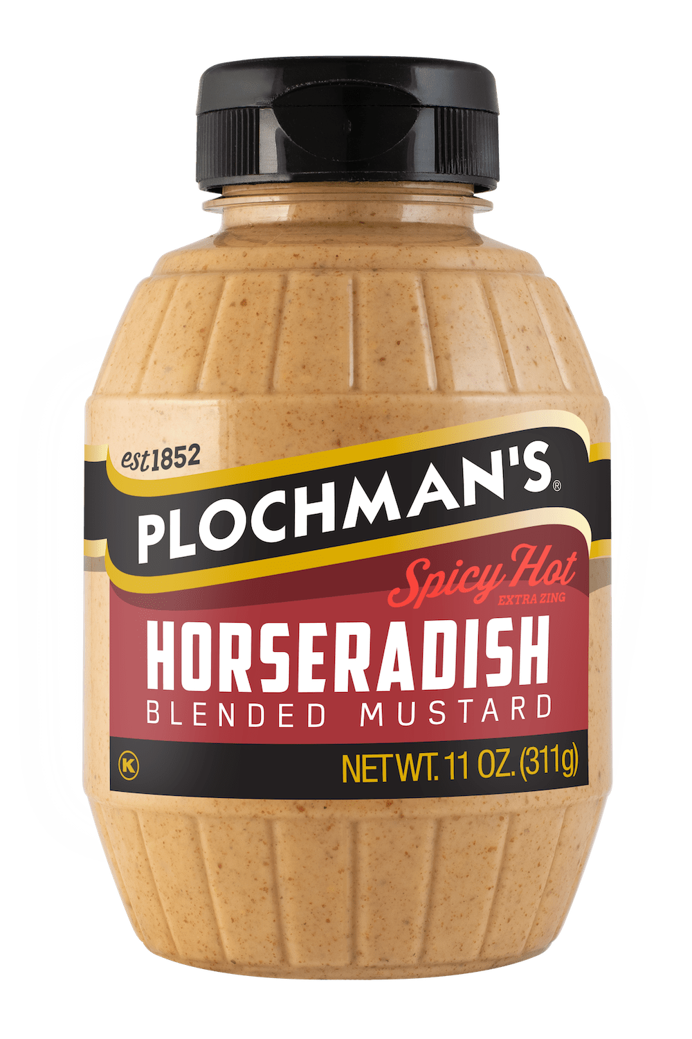 Plochman's Spicy Hot Blended Horseradish Mustard