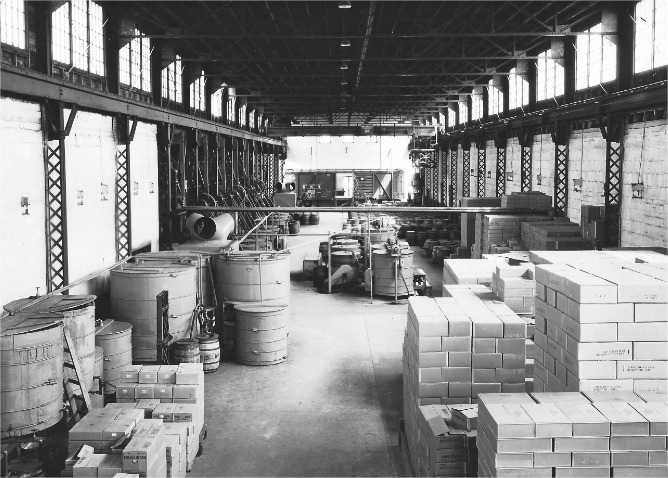The Plochman's factory moved locations a couple times in the early 1900s