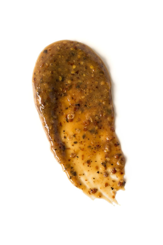 Balsamic mustard smear