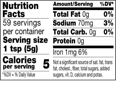 Chicago Fire mustard nutrition facts