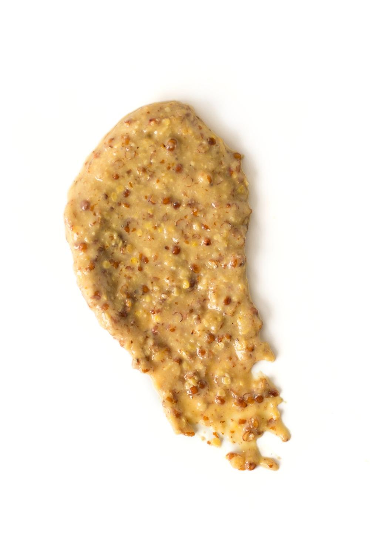 Stone Ground mustard smear