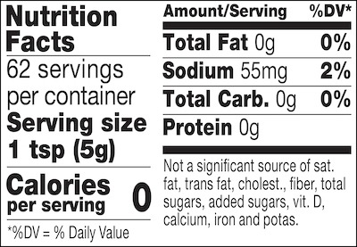 Spicy Brown mustard nutrition facts